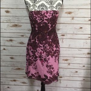The Limited Floral pink & purple dress